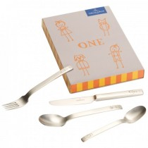SET INFANTIL CUBIERTOS ONE