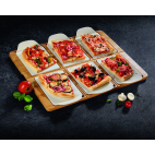 PIZZA PASSION PLATO RECTANGULAR PARA PIZZA