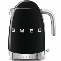 HERVIDOR TEMPERATURA VARIABLE COLOR NEGRO SMEG