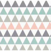 Mantel Rdo. Teflon Living Triángulos